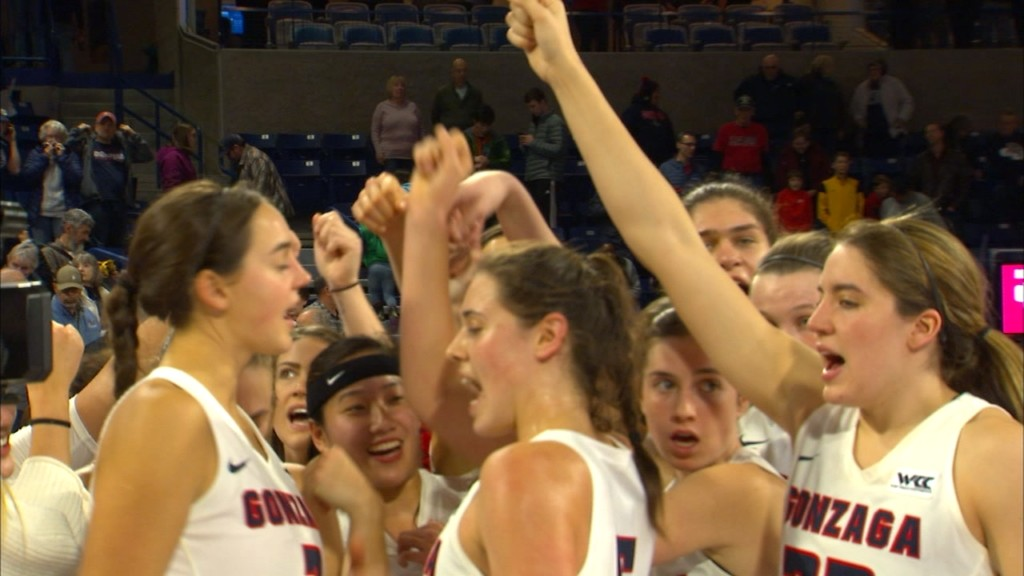 Zags cruise past Eastern Washington, 84-44