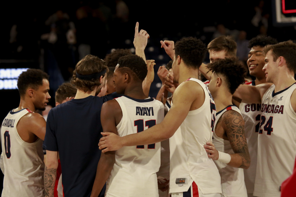 Gonzaga turns on Tourney mode: It's win or go home from here