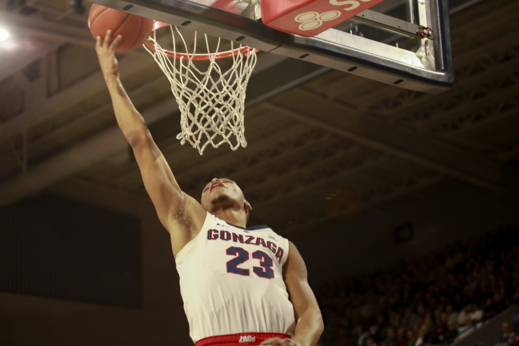No. 3 Gonzaga extends nation's longest active winning streak with win at San Diego