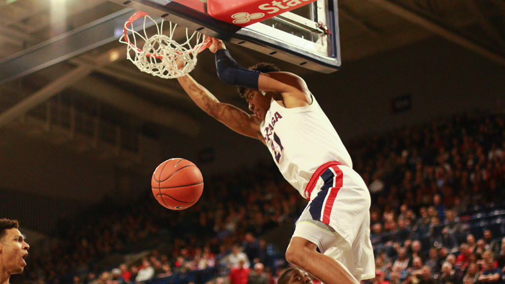 Gonzaga holds steady at #5 in AP Top 25 Poll