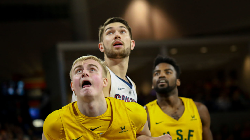 Killian Tillie reportedly returning to Gonzaga, withdrawing from NBA Draft