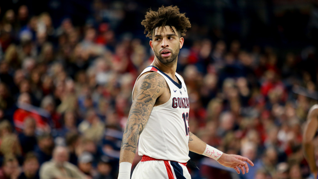 Gonzaga jumps to #5 in the AP Top 25 Poll