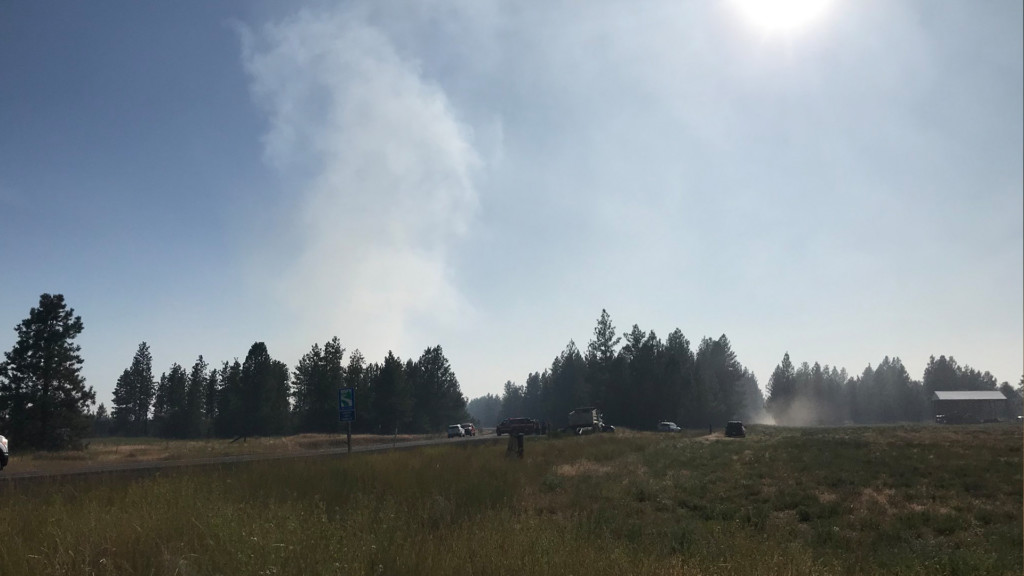 Spokane Co. Sheriff's Office: Be cautious of random people offering to help during wildfires