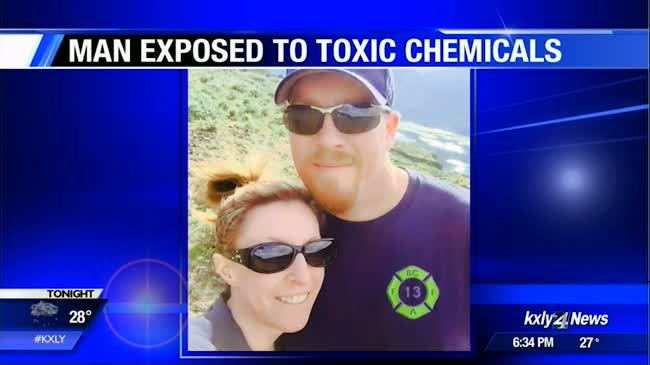 UPDATE: Grant County firefighter dies after being exposed to toxic chemical