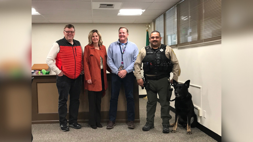 K9 Grizzly retires from Grant County Sheriff's Office