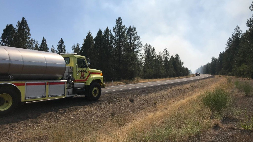 Fire crews fully contain Cheney Complex Fire Sunday