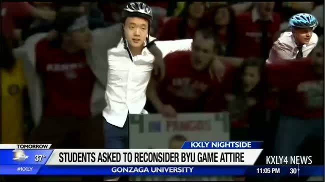 GU asks students to refrain from wearing missionary attire to BYU game