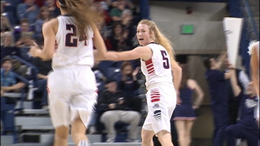 Zags win 12th straight, roll Broncos