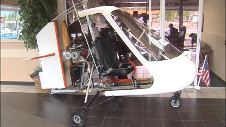 Two gyrocopters donated to Union Gospel Mission now for sale