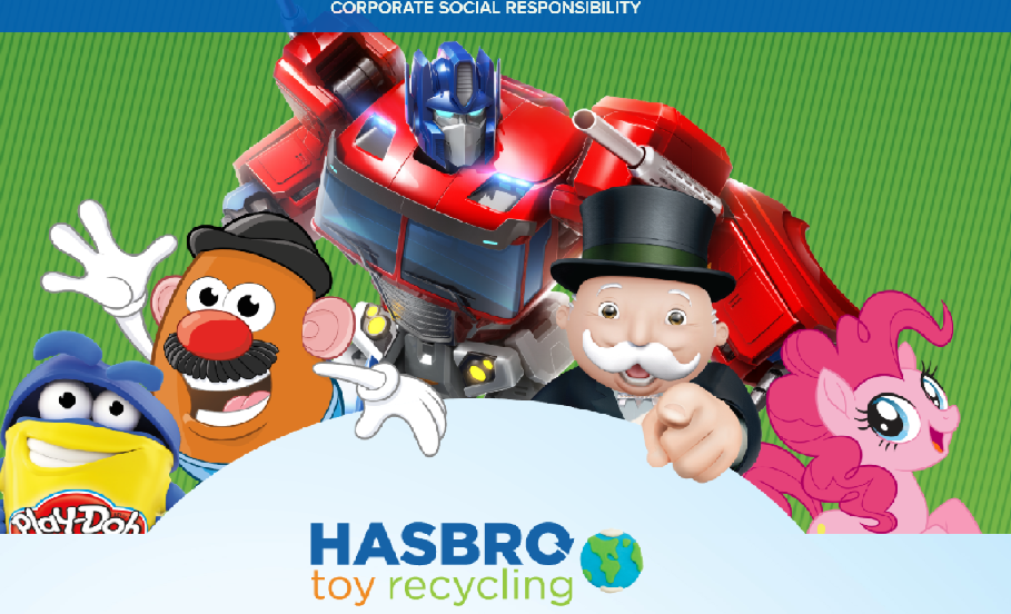 Hasbro plans to turn old toys to playgrounds