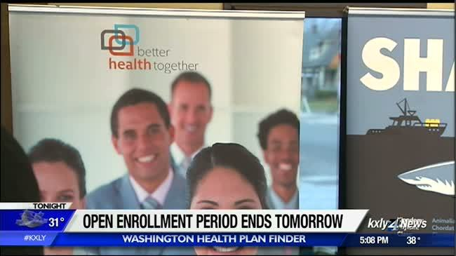 Health care open enrollment period ends tomorrow
