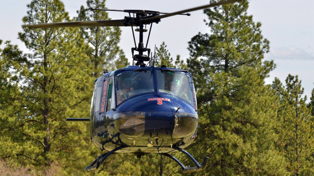 Man crashes his bike outdoors, airlifted to safety by Spokane Air Rescue crew