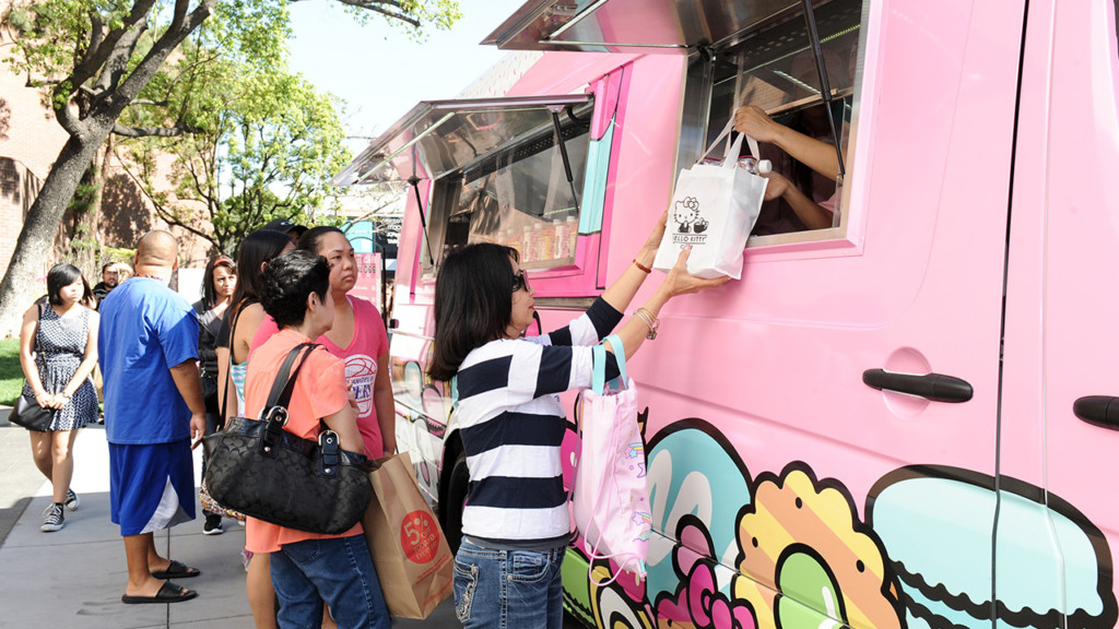 Hello Kitty Cafe Truck is on its way to Spokane