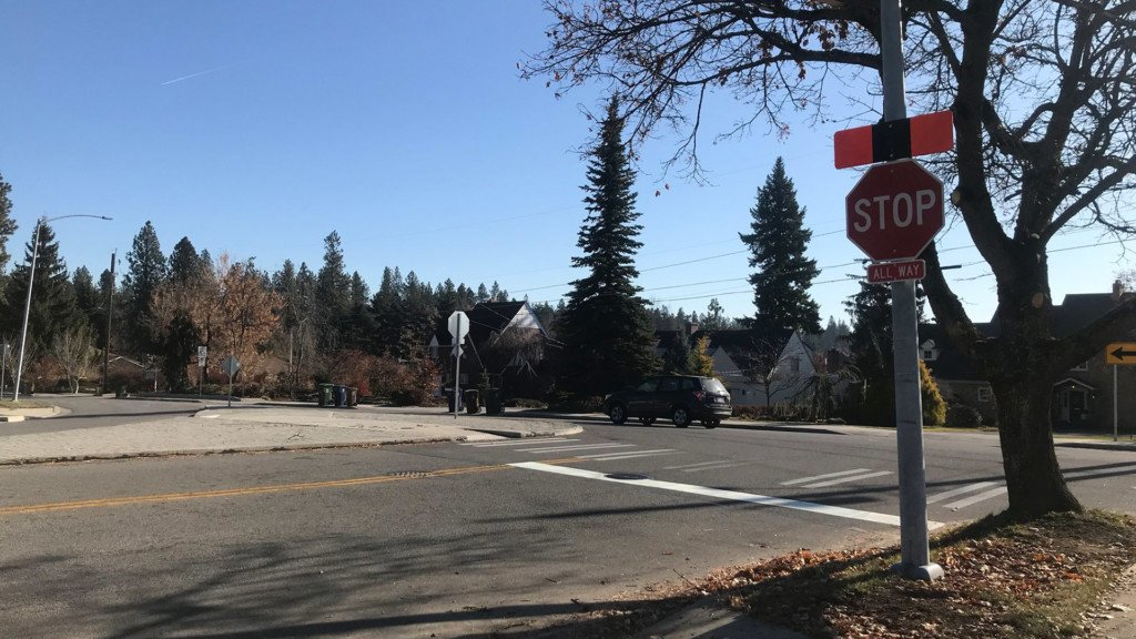 New stop sign on Spokane's South Hill confusing some drivers