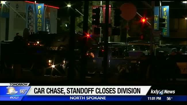 High speed chase results in tense standoff