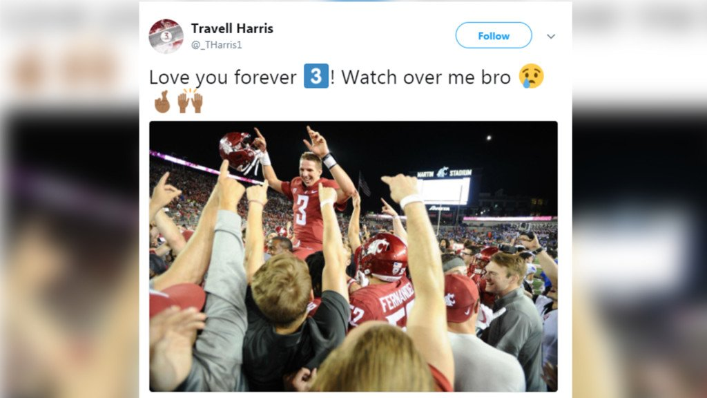 Twitter reacts to Tyler Hilinski's death