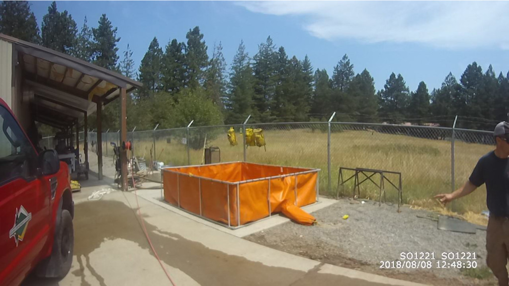 Shoshone County Sheriff's Office searching for stolen holding tank