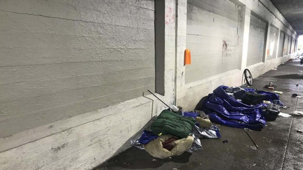 With below freezing temperatures, agencies wonder if one warming center is enough
