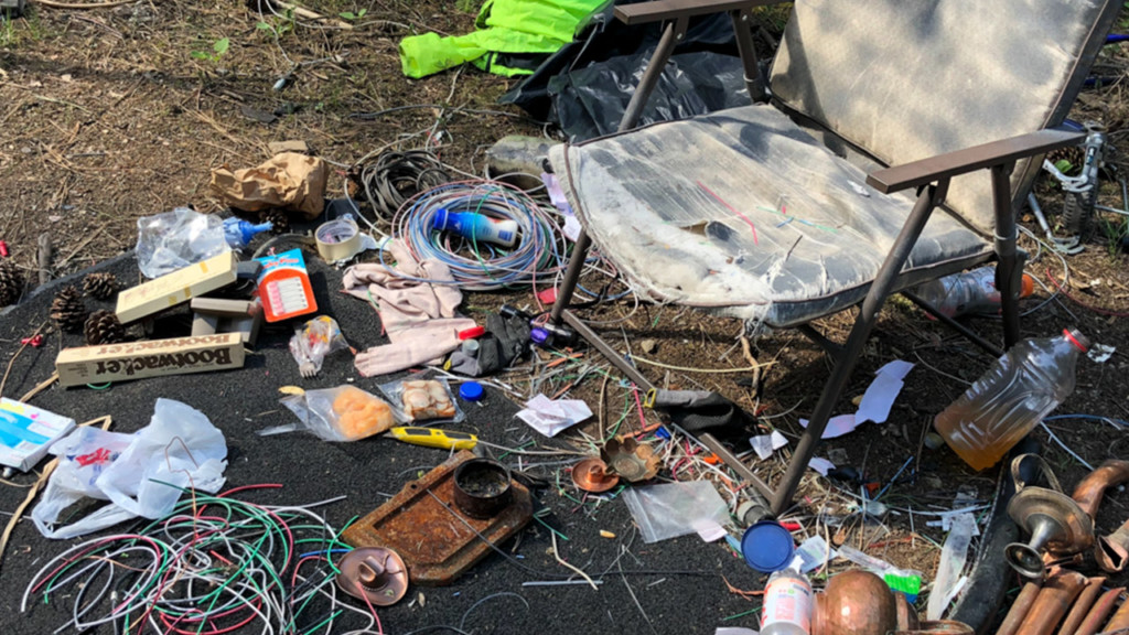 Three homeless camps discovered near west Spokane park