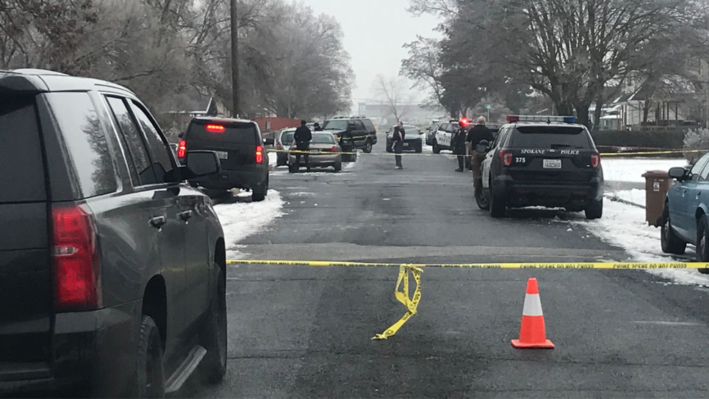Police searching for suspect in homicide, schools on lockdown in the area