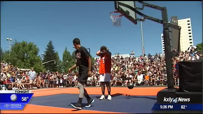 Businesses eagerly await the promise of a busy downtown for Hoopfest weekend