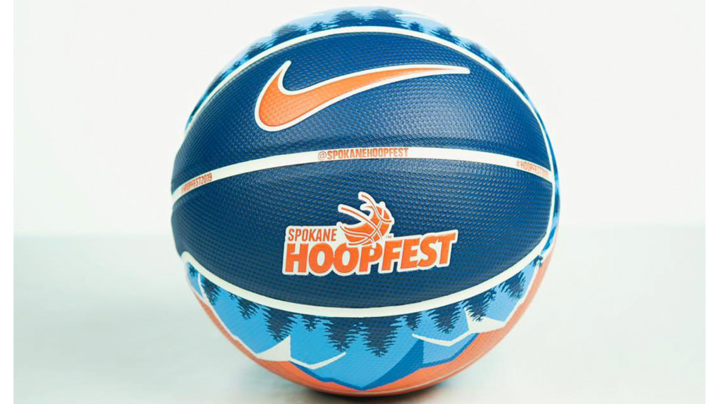 Hoopfest unveils 2019 game ball, poster