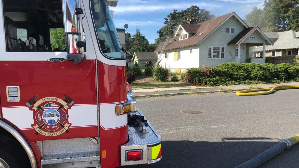 Crews extinguish house fire in Emerson Garfield neighborhood