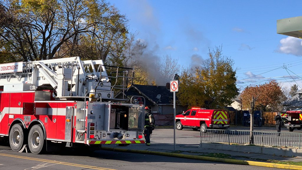 Fire crews respond to house fire on Boone Ave Saturday