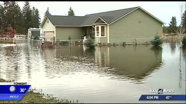 How to deal with a flooded home