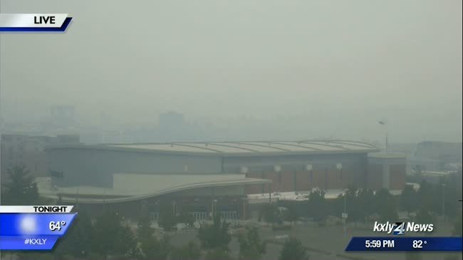 Smoke and haze can impact your breathing for days as hot weather moves into Spokane