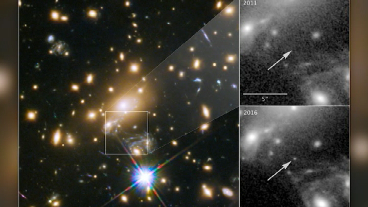 Astronomers identify the most distant star ever observed