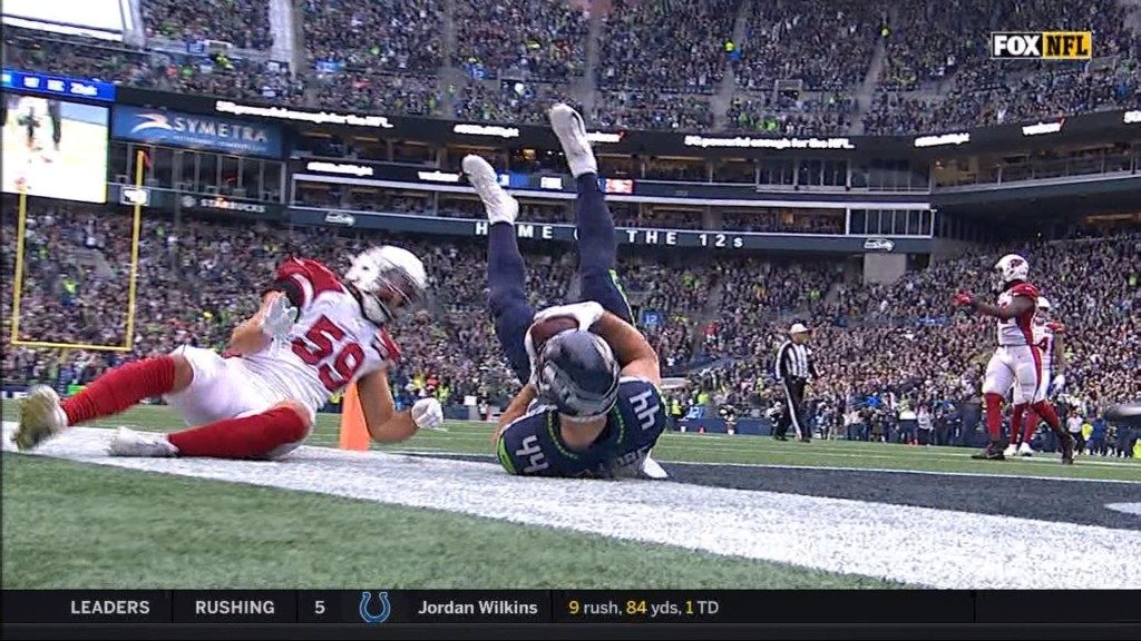 Seahawks stutter on offense, Cardinals win 27-13 in Seattle