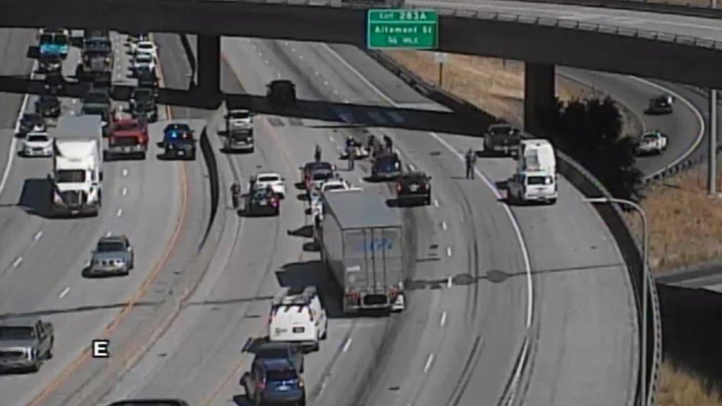 Two people injured in I-90 motorcycle crash
