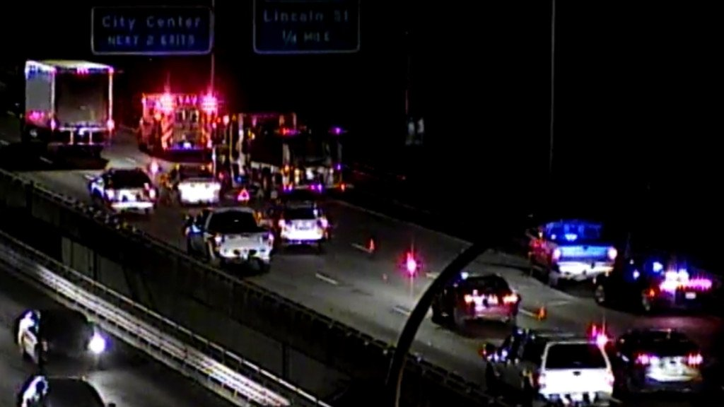 Crash on I-90 near Highway 195 blocks eastbound lane