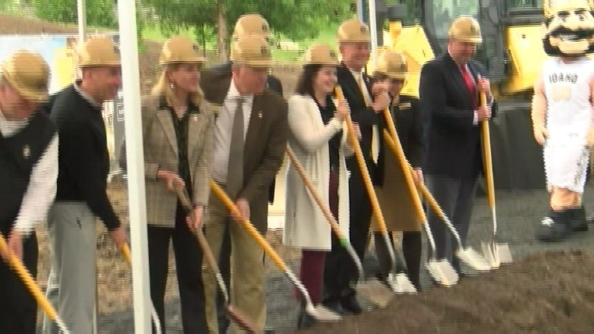 ICCU Arena breaks ground for basketball, events at the University of Idaho