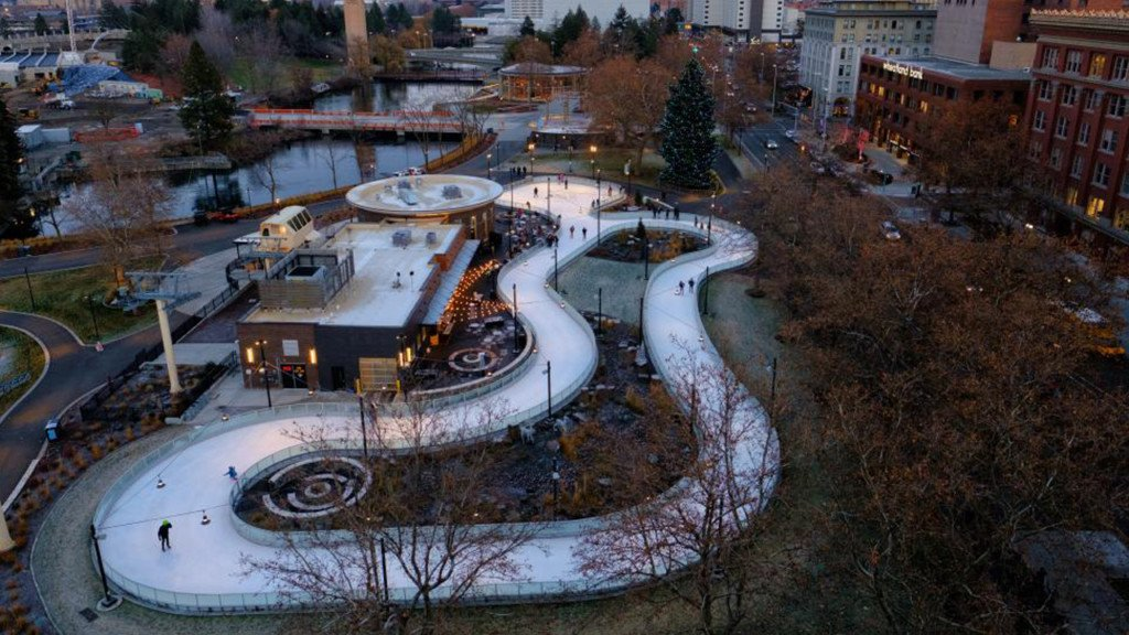 Riverfront Park ice ribbon opening for winter season on Saturday