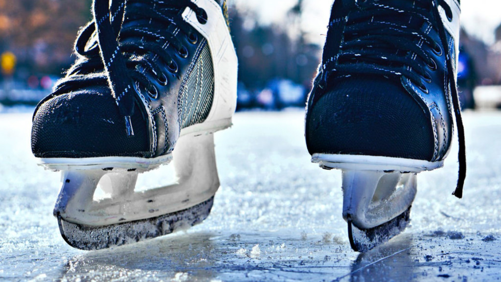 Riverfront Park is hosting ice-skating lessons at the Numerica Skate Ribbon