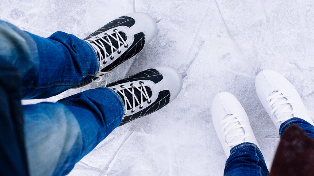 Skate in and enjoy holiday movies at the Numerica Skate Ribbon