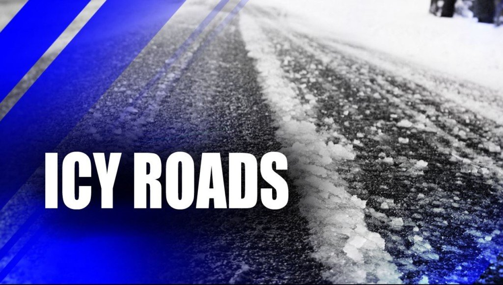 Sanders, deicers out working on icy roads