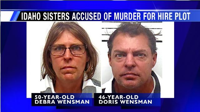 N. Idaho sisters arrested for murder for hire plot