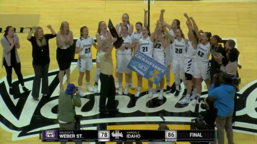 Vandals defeat Wildcats; clinch share of Big Sky title