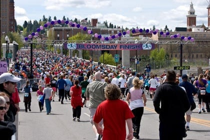 Spokane Bicycle Club offers Bloomsday bike corral to race day riders