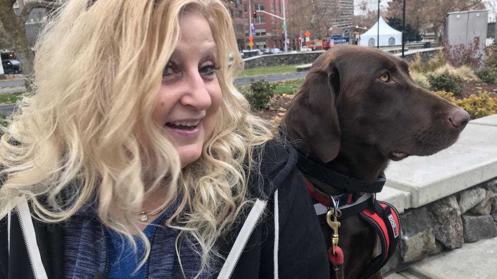 """Spokane woman supports stricter penalties for """"misrepresentation"""" of service animals"""