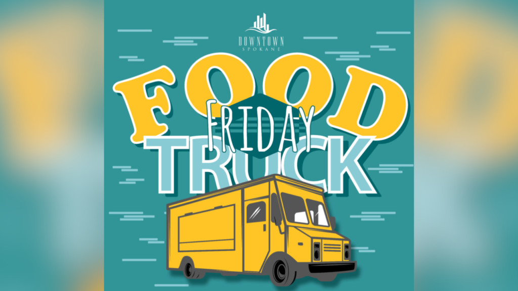'Food Truck Friday' returns to Spokane Friday