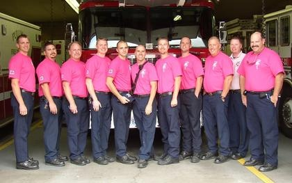 """Pullman Fire Department goes """"Passionately Pink"""""""
