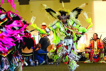 Enjoy Indigenous Peoples Day with a potluck and powwow