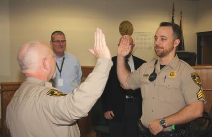 Sheriff's Deputy promoted to Sergeant