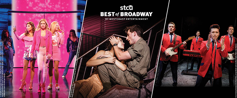 Here are the shows appearing in the 2019-2020 Best of Broadway season
