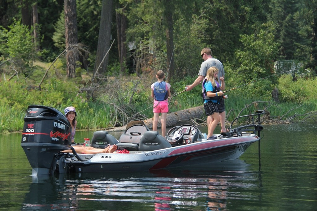 Area bass fishermen give kids at Camp Goodtimes a day to remember