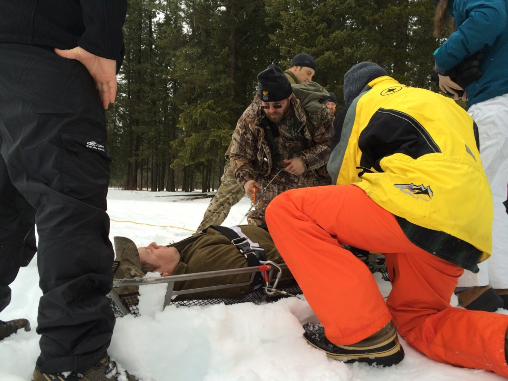 Training for the worst in Idaho backcountry